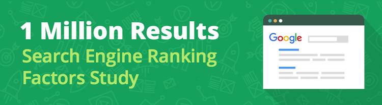 Что мы узнали про ранжирование в Google из 1 млн результатов выдачи