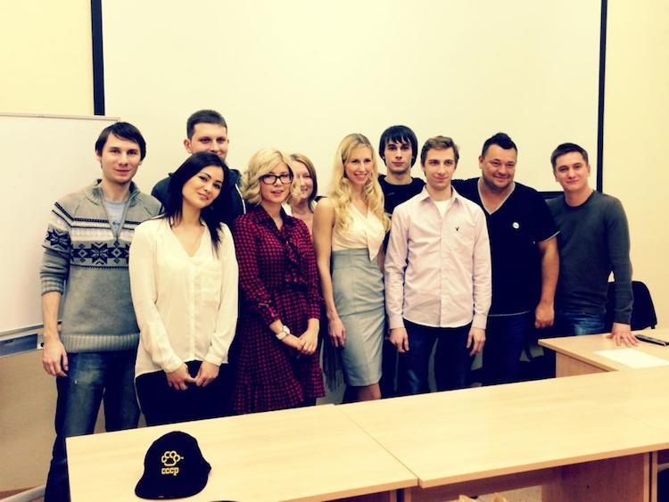 Сергей Жуков, Сергей Никишов, преподаватели и студенты курса РИК
